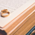 Marriage ring and Bible