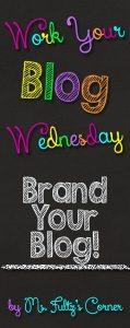 Work Your Blog Wednesday: Branding Your Blog