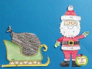 Santa Math Craftivities