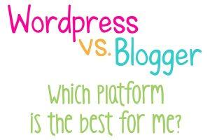 WordPress vs. Blogger
