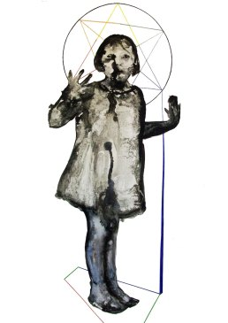 Seduction 2, ink on paper, 70 x 100 cm, 2015