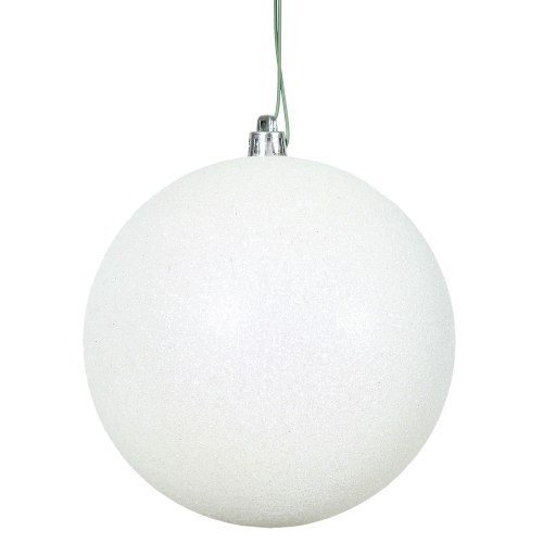 Medium Of White Christmas Ornaments