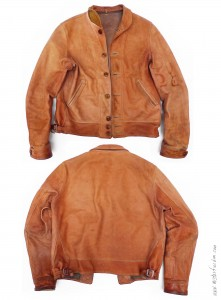 Campus Jacket Natural cowhide Mister Freedom 2013