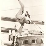 """Mark Stevens earning a living in """"September Show"""" (1960)"""