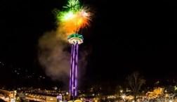 Gatlinburg, New Year's, Space Needle