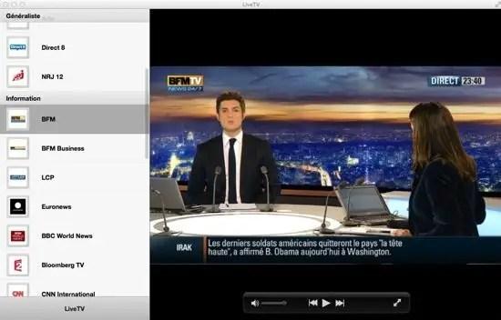 LiveTV Screenshot