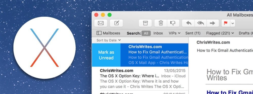 What's New in Mail 9 – OS X El Capitan