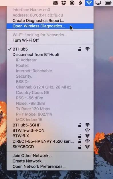 open-wifi-diagnostics