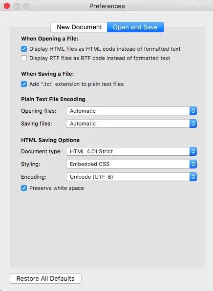 textedit display html