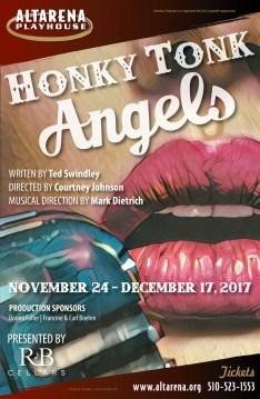 Honky Tonk Angels Poster - Altarena Playhouse