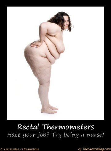 Rectal Thermometers Demotivational Posters