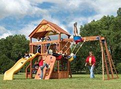 Sunray Premium Playground 2005 (AKA swingset monstrosity)