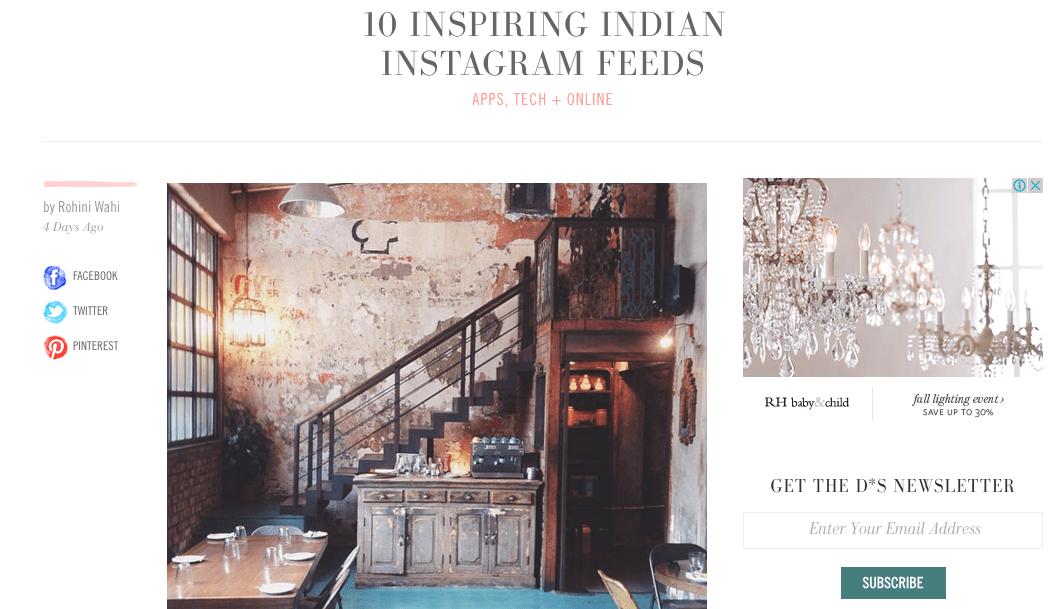 10 Inspiring Indian Instagram Feeds