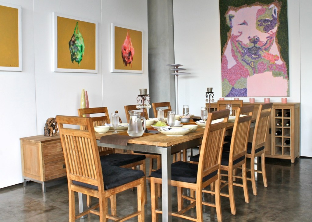 Project KOI XV ☆ Acapulco Dining Table & Sledge Dining Chair