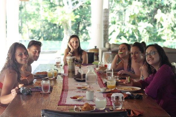 Pandawas Villas breakfast2