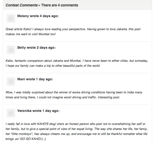 expat blog comments