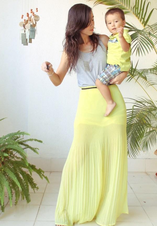 Mango Maxi Dress & Purse-15