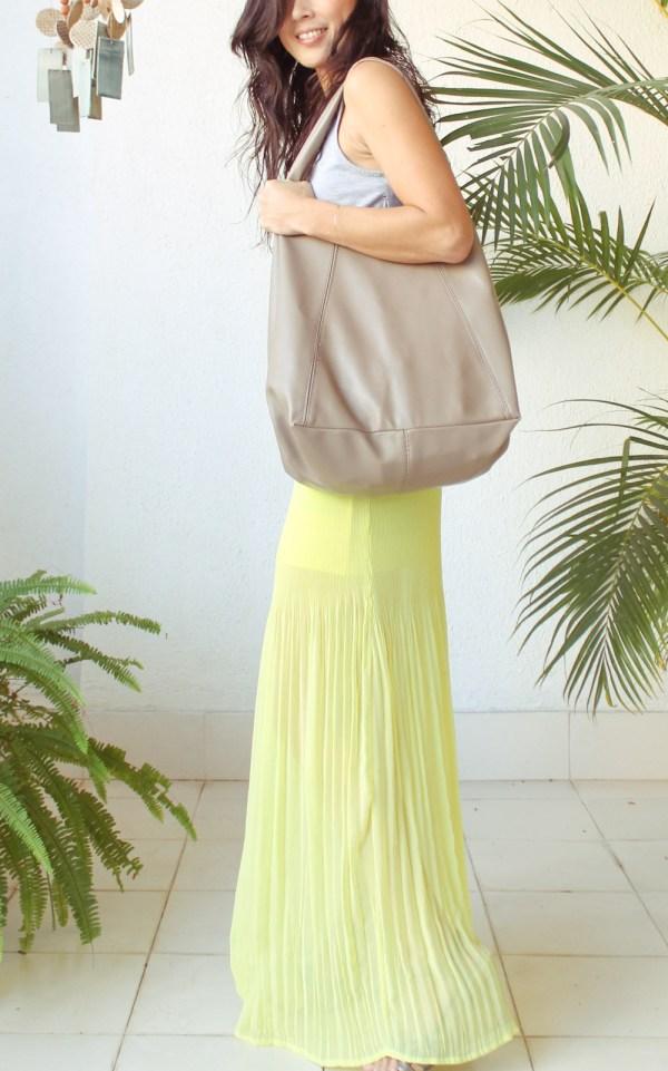 Mango Maxi Dress & Purse-19