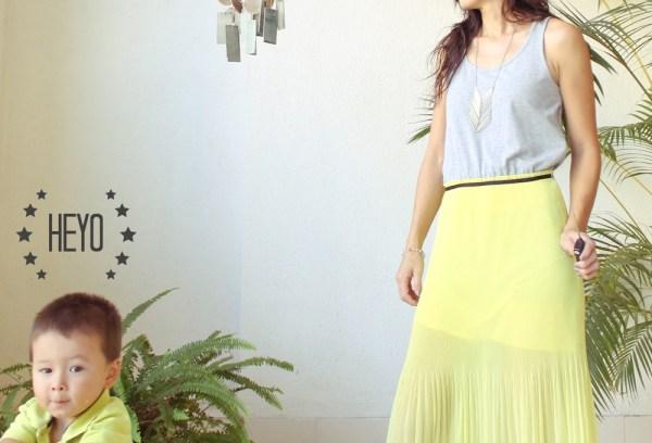 Mango Maxi Dress & Purse-9