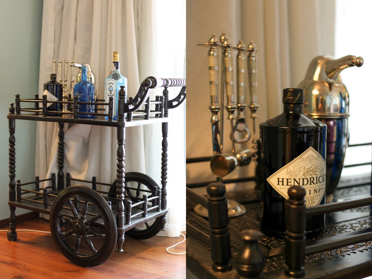 Indian bar cart