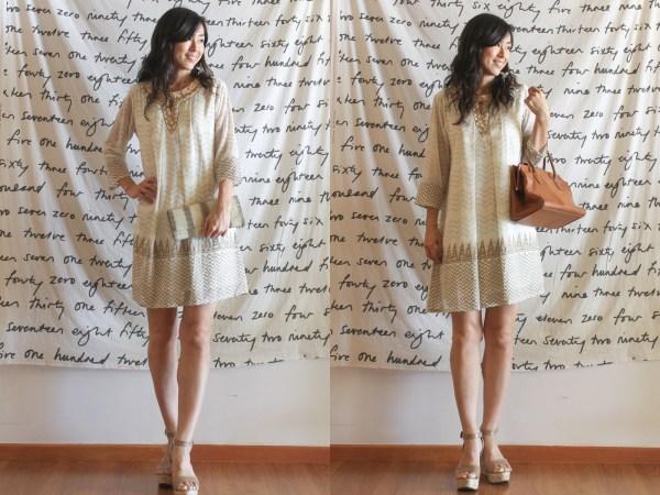 Global Desi Gold Dress1