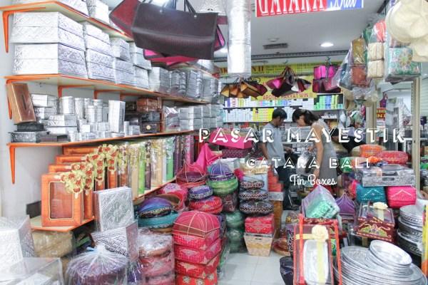 Pasar Mayestik Tin Boxes Gatara Bali