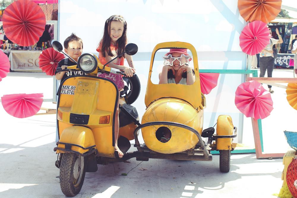 Kids on a ride-2