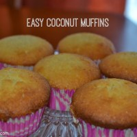 Sweet Treats: Easy Coconut Muffins