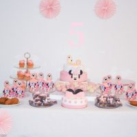 Minnie Mouse Themed Birthday Party