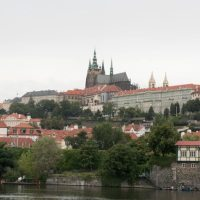 Prague, Czech Republic / Cruising Valtava River