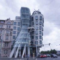 PRAGUE, CZECH REPUBLIC / LENNON WALL & DANCING HOUSE