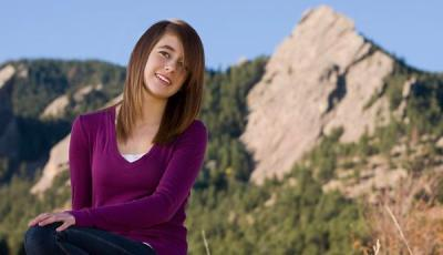 Ciannon in the Rockies