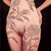 Sexy Nude Body Art