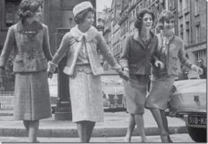 Coco Chanel falda