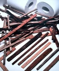 Palito de caca (Fuente: Wikipedia Commons).