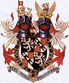 Escudo de armas de los Spencer Churchill.