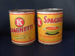 espagueti enlatado