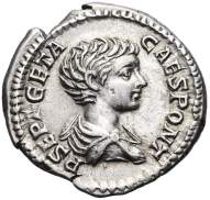 Moneda de Publius Septimius Geta