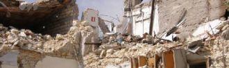 Ruinas en L'Aquila
