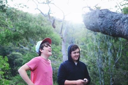 Sydney photographer - 2 brothers in Australian bush