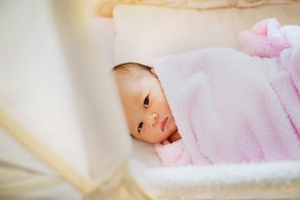 Fresh 48 Newborn Sydney Photography_ baby looking