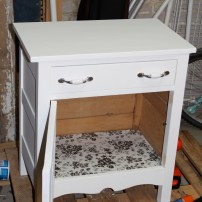 lined cabinet