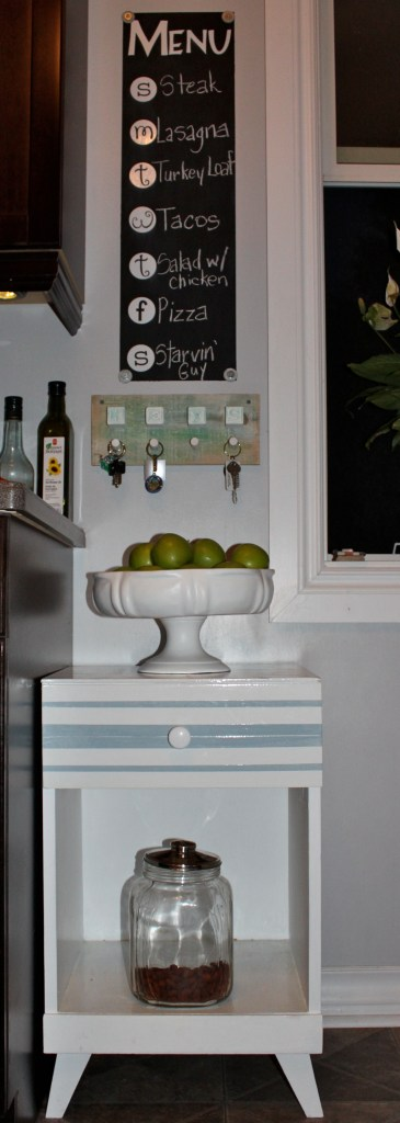 cabinet in kitchen