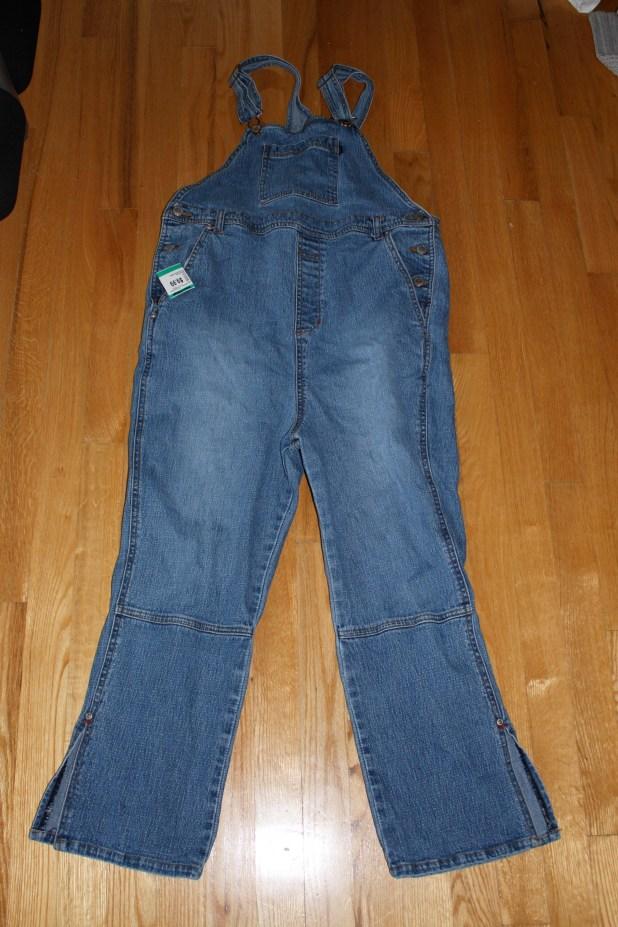 thrift store overalls