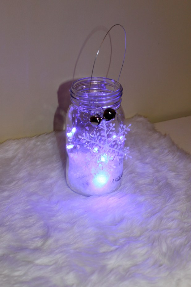 Finished mason jar project