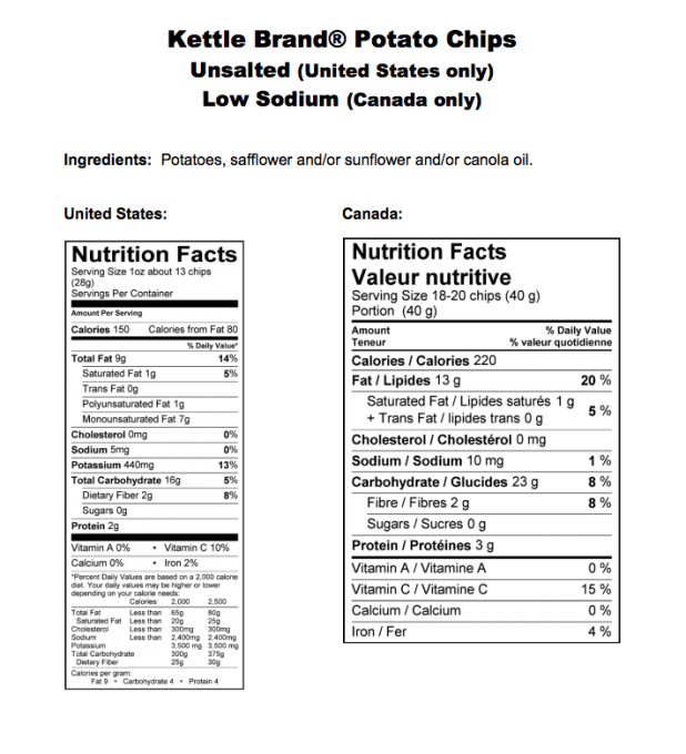 low sodium chips