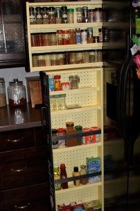 Here is a shot of both shelves.