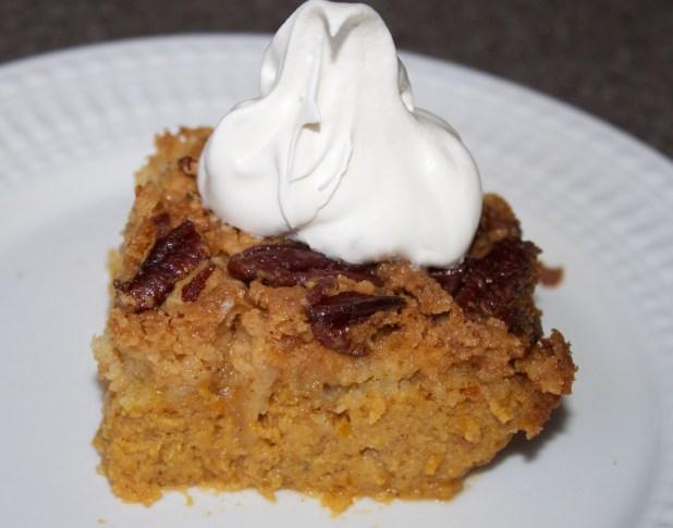 Pumpkin Pie Cake Dessert