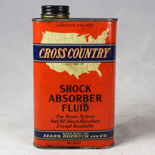 Cross Country Shock Absorber Fluid