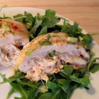 Crab Louie Stuffed Chicken #SundaySupper